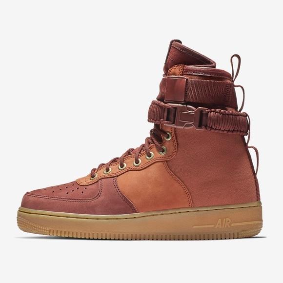 cobre Al frente Dos grados  Nike Shoes | Nike Sf Air Force Premium Winter Edition | Poshmark